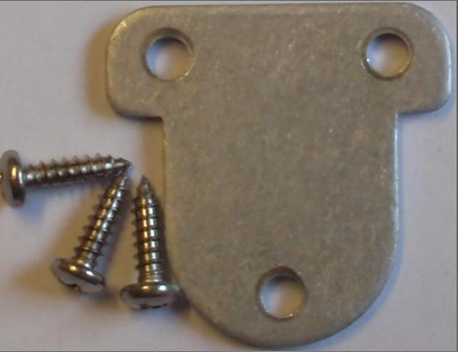 Shurflo End Plate with Screws 8000 Series Pumps