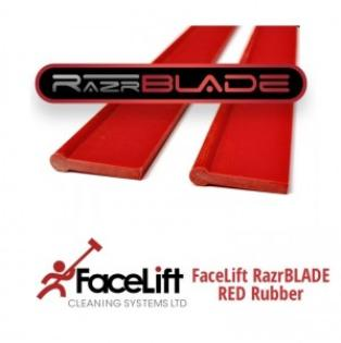 FaceLift RazrBLADE RED Squeegee Rubber