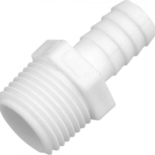 """Connector NPT Male to 1/2"""" Hose Tail"""