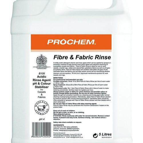 Prochem Fibre & Fabric Rinse B109