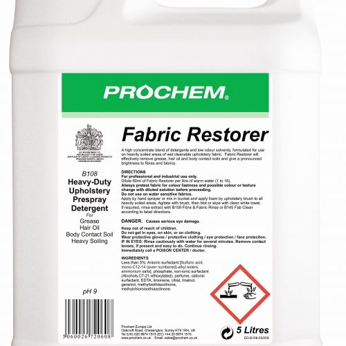 Prochem Fabric Restorer B108