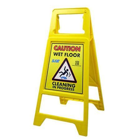 "SYR Sign ""Caution Wet Floor"""