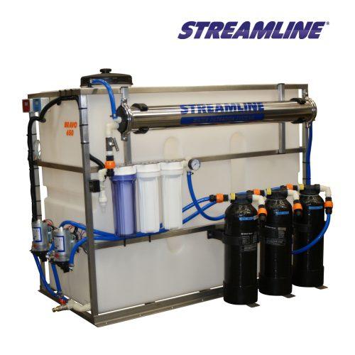 Bravo 650 Litre Resin Bead Filter System