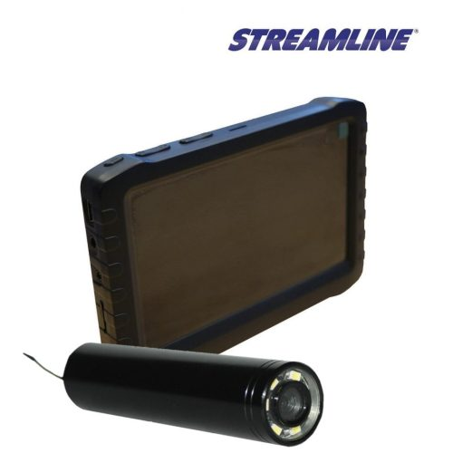 Streamvac camera and monitor