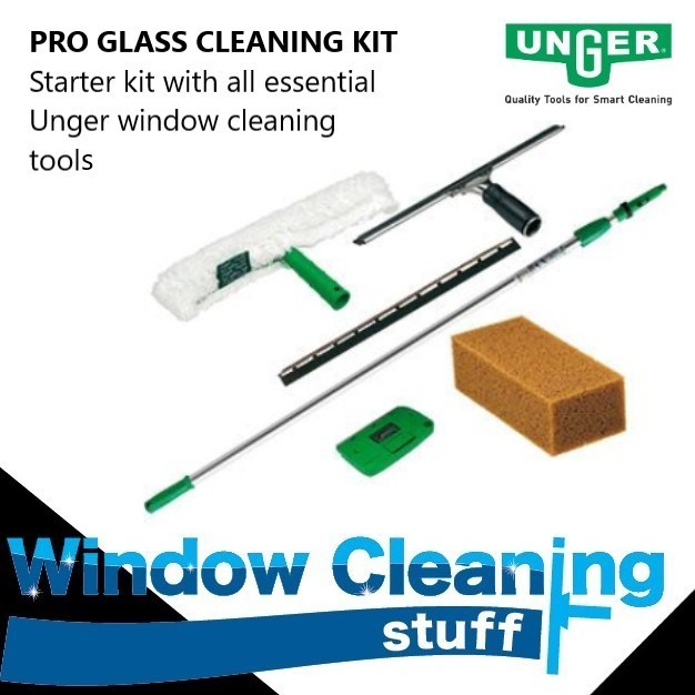 Unger PRO GLASS Cleaning Kit